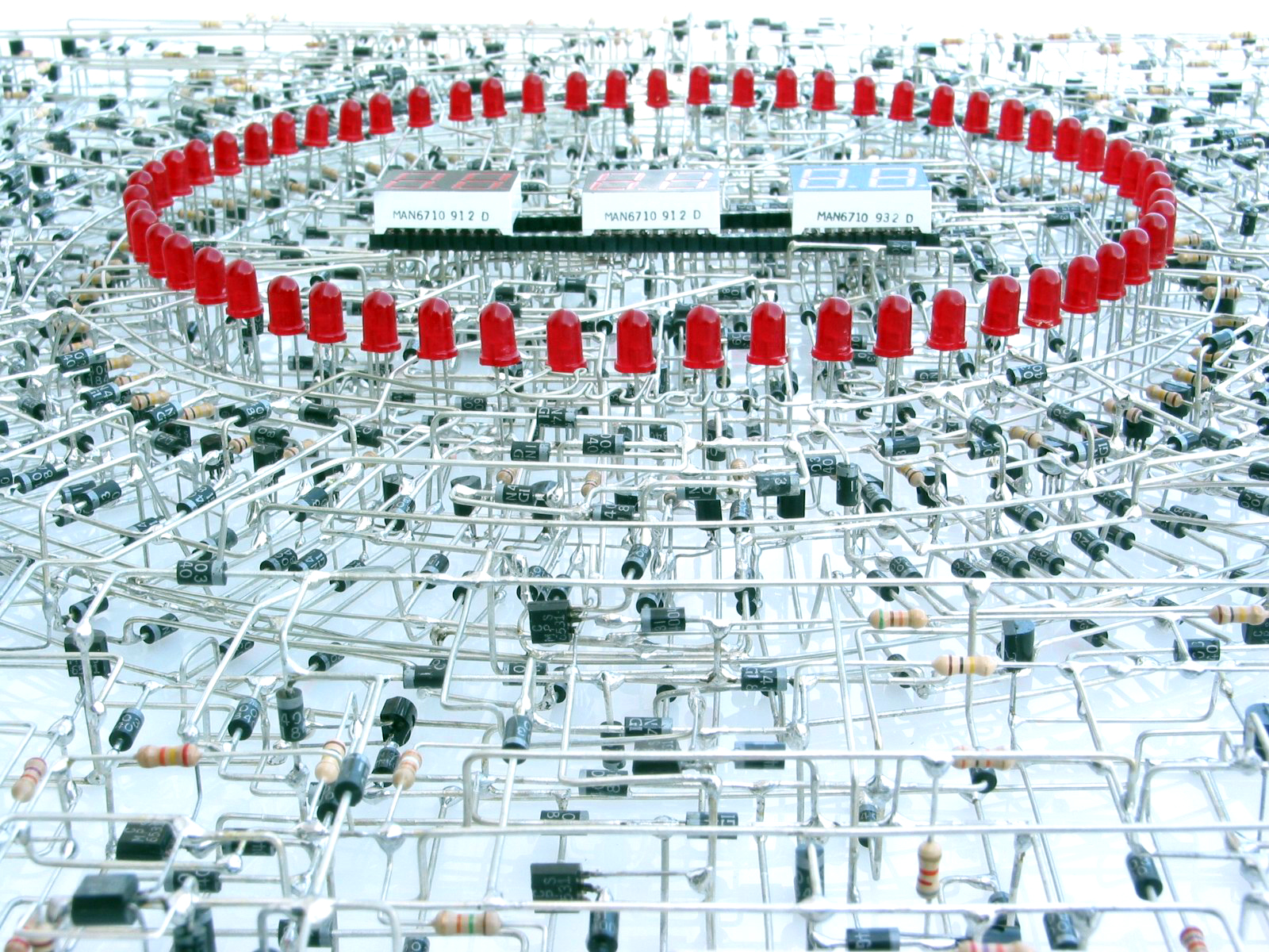 Awesome 3d Electronic Sculptures Ee Times Simple Led Blinking Circuits Eeweb Community Click Here